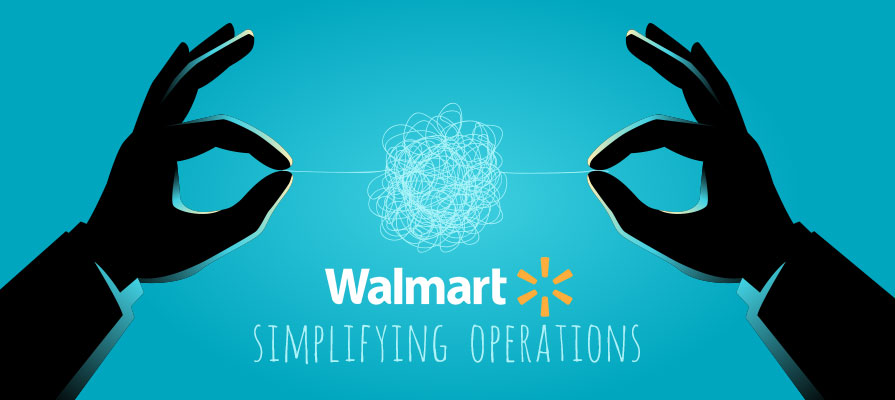 Walmart Restructures its U.S. Operations