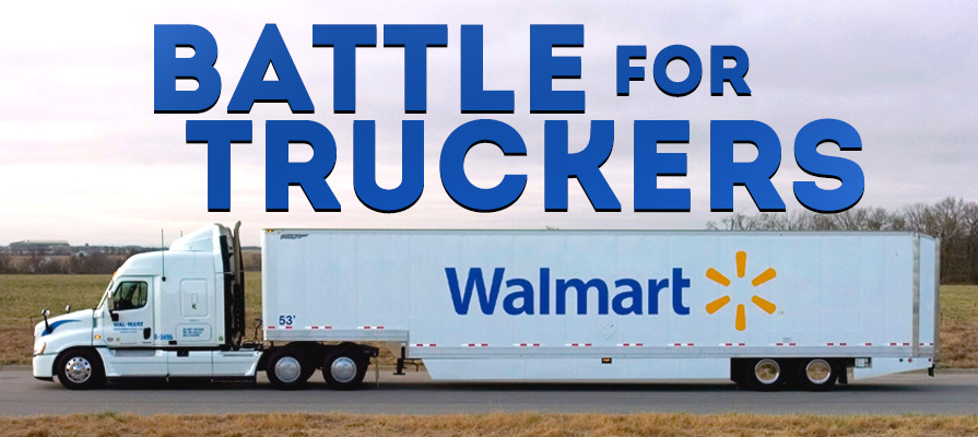 Walmart's Plan to Attract and Retain Truckers