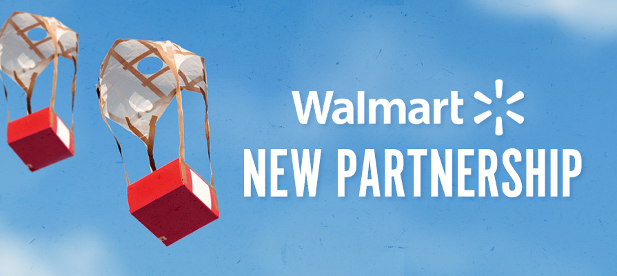 Walmart Nabs New Partner Zipline as it Tests Drone Delivery