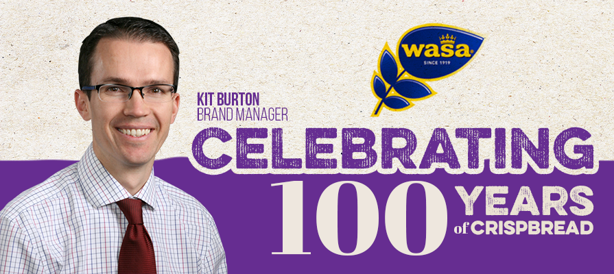 Wasa Celebrates 100 Years of Premium Crispbreads
