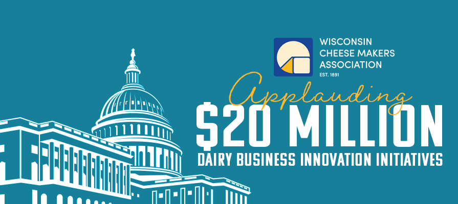 WCMA Applauds $20 Million Investment in 2020 for Dairy Business Innovation Initiatives
