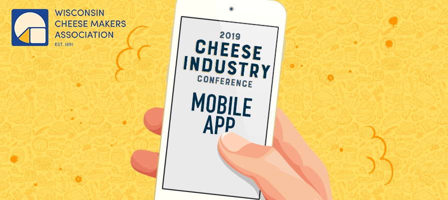 2019 Cheese Industry Conference Mobile App Now Live