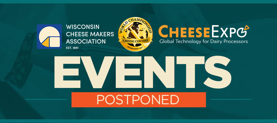 Wisconsin Cheese Makers Association Releases Event Updates