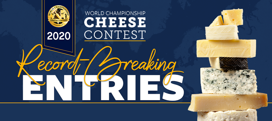 Wisconsin Cheese Makers Association Announces Record-Breaking Entries