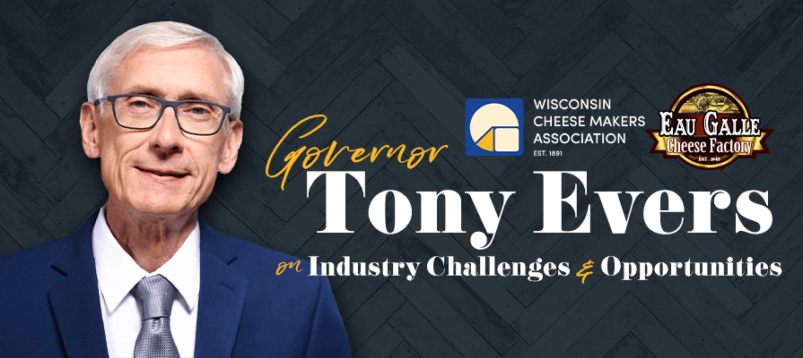 Wisconsin Cheese Makers Association Welcomes Governor Tony Evers for an Exclusive Facility Tour