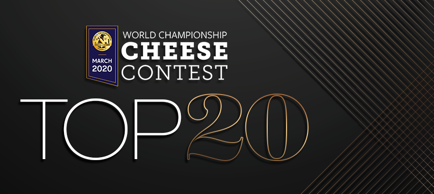 World Championship Cheese Contest Announces Top 20