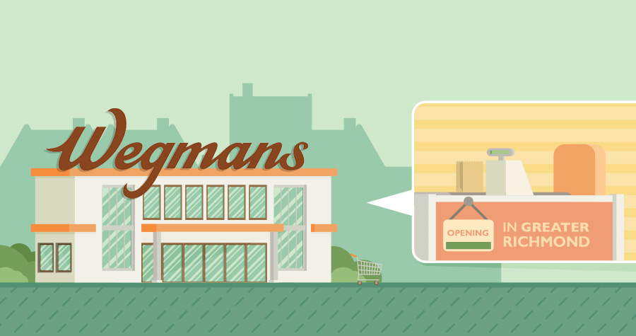 Wegmans' First New Stores in Greater Richmond are Imminent