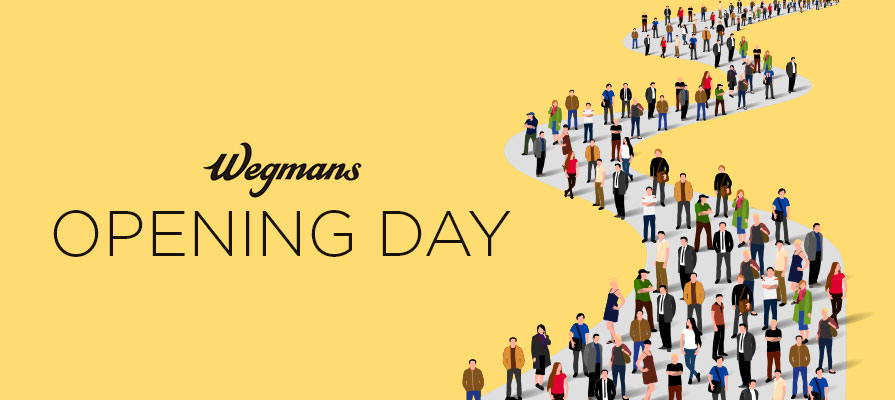 Wegmans Location Draws Big Crowd to Opening Day