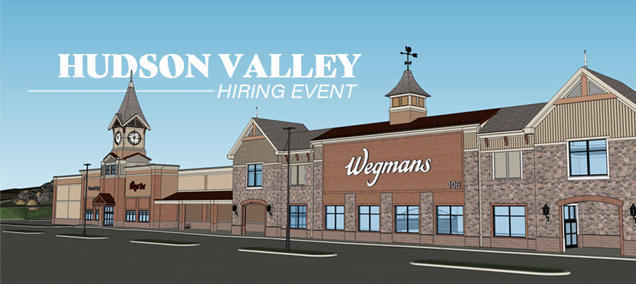 Wegmans Holds Hiring Event for First Hudson Valley Store