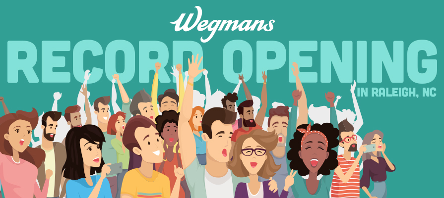 Wegmans Grand Opening Breaks Records