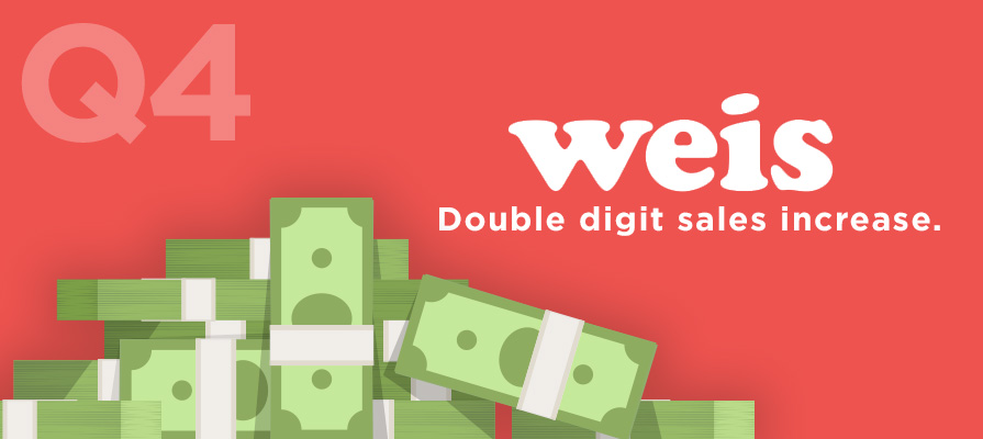 Weis Markets Rounds Out Q4 Financials With Double Digit Sales Increase