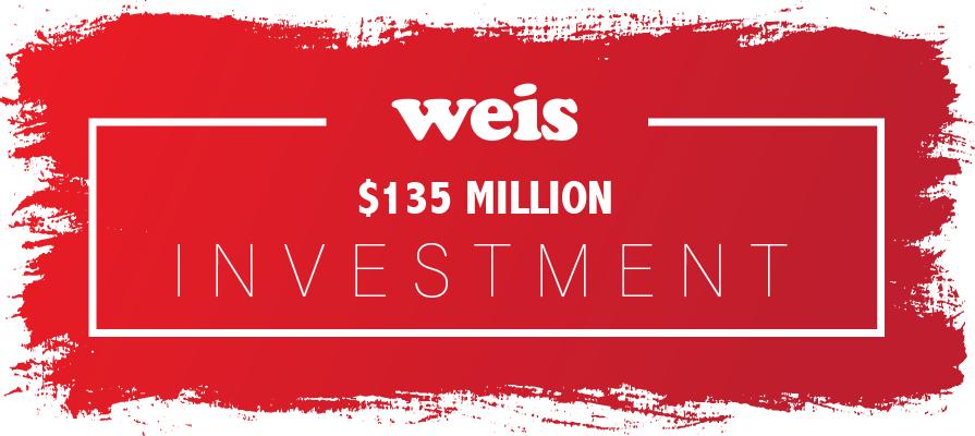 Weis Markets Announces 135M Dollars in Cap-Ex Program