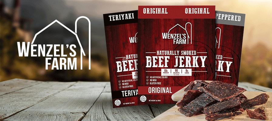 Wenzel's Farm Beef Jerky Debuts