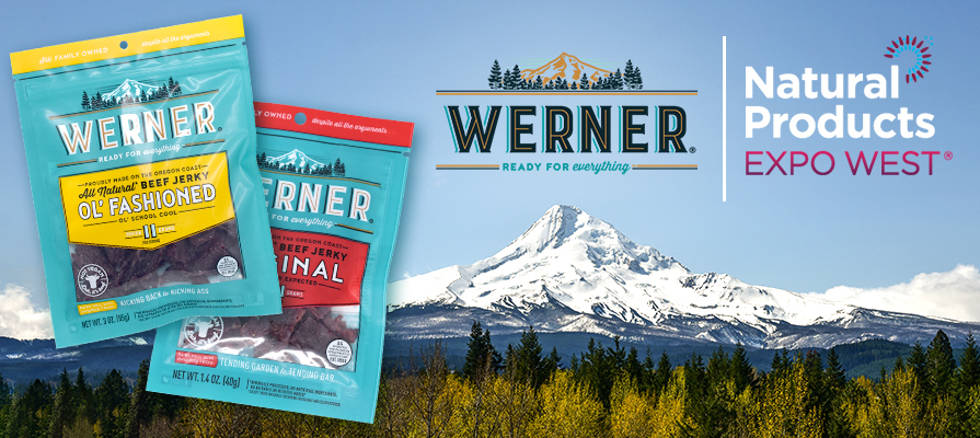 Werner Gourmet Meat Snacks To Attend Natural Products Expo West