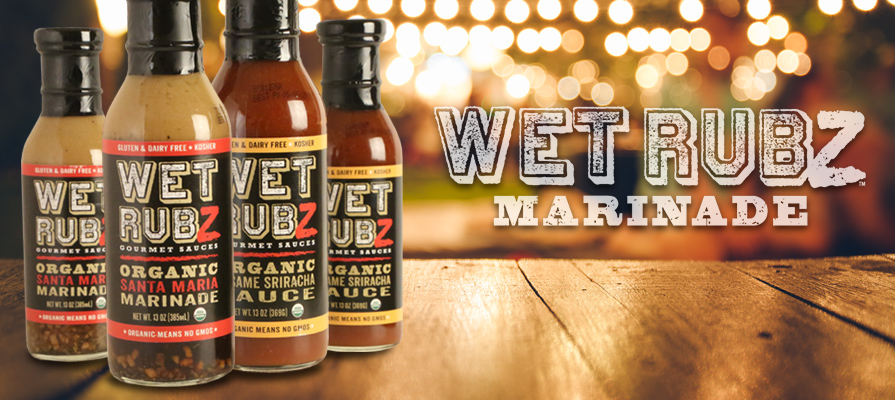 Wet Rubz Gourmet Sauces Add On-Trend Flavor to the Grill