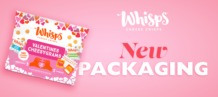 Whisps Launches New Valentine's Day Packaging