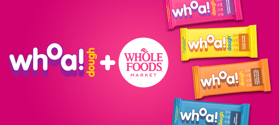 Whoa Dough Teams Up With Whole Foods Market