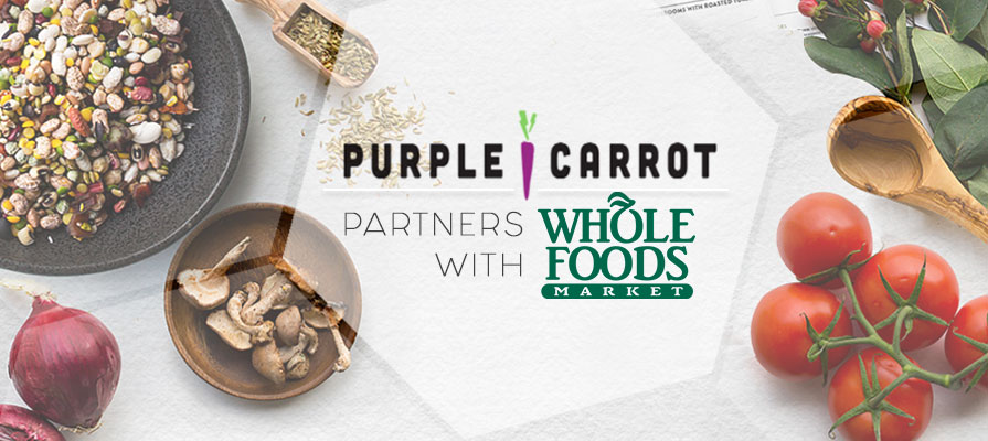 Whole Foods Enters Meal Kit Game With Purple Carrot