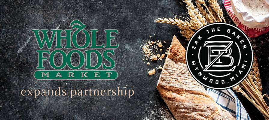 Whole Foods Markets Expands Partnership with Zak the Baker