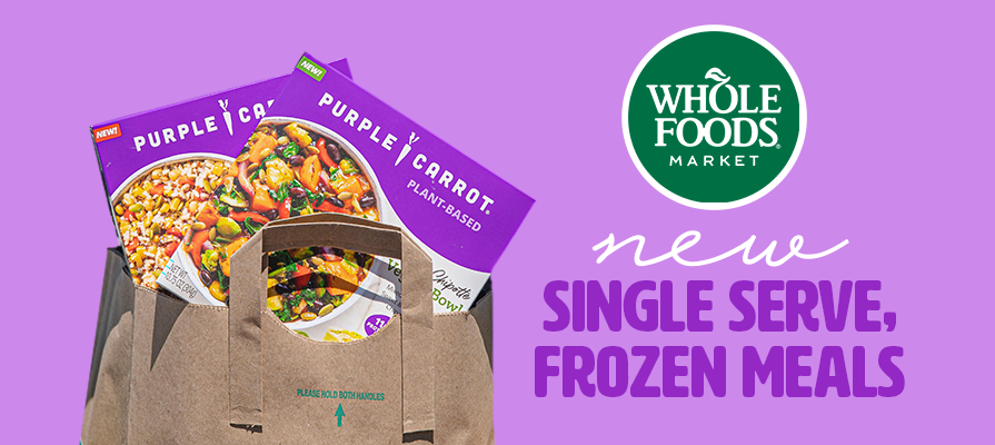 Whole Foods Market Partners with Purple Carrot