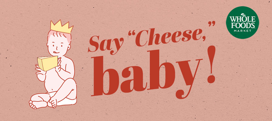 Whole Foods Market to Debut a Royal Baby Cheese