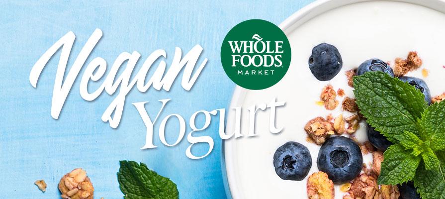 Whole Foods Market Debuts New Vegan Yogurt Line