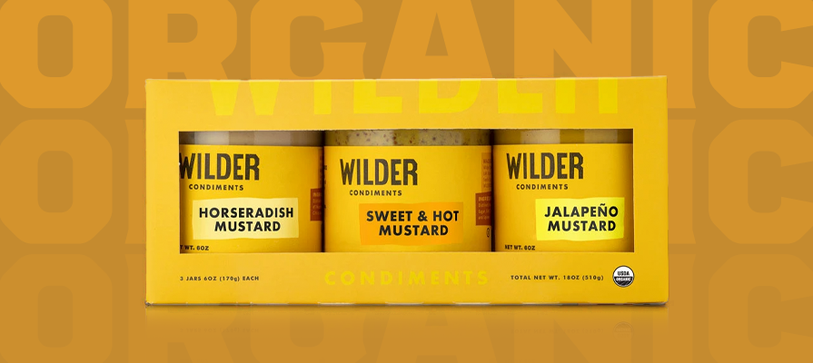 Wilder Condiments Launches New Organic Mustards in California-Inspired Flavors; Isabel Freed Comments