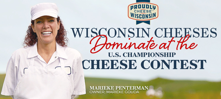 Wisconsin Cheese Sweeps U.S. Championship Cheese Contest