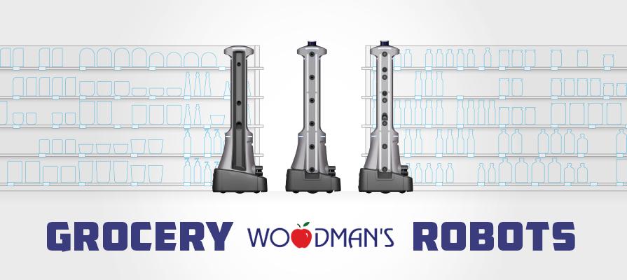Woodman's Markets Rolls Out Badger Technologies Grocery Robots