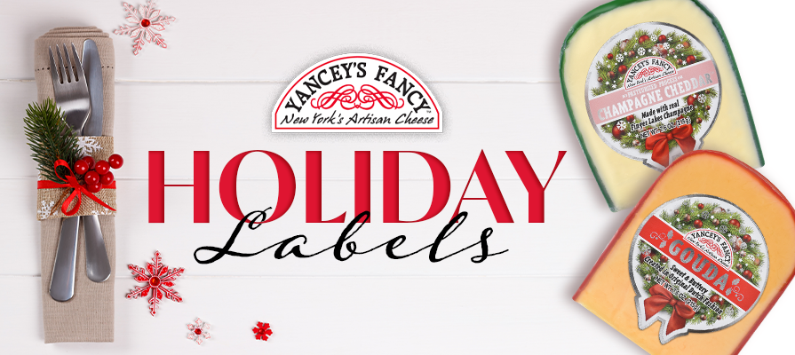 Yancey's Fancy Reveals New Holiday Labels