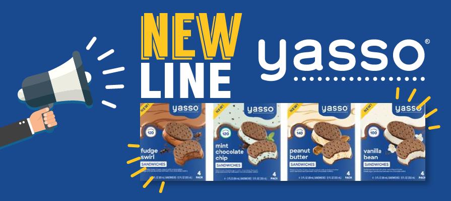Yasso Unveils New Frozen Greek Yogurt Sandwiches