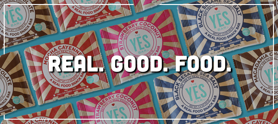 The YES Bar Real Food Snack Bar Offers Premium Ingredients and Award-Winning Taste