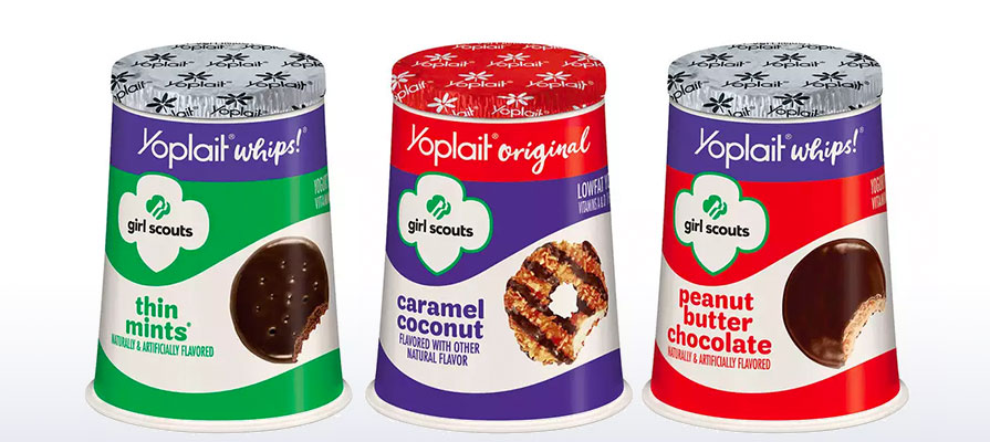 Yoplait Introduces New Girl Scout Cookie™-Inspired Yogurt