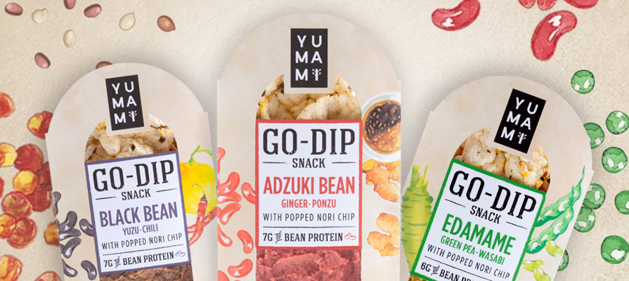 Yumami's Go-Dip Snack Packs Offer Healthy, Convenient, On-Trend Flavors