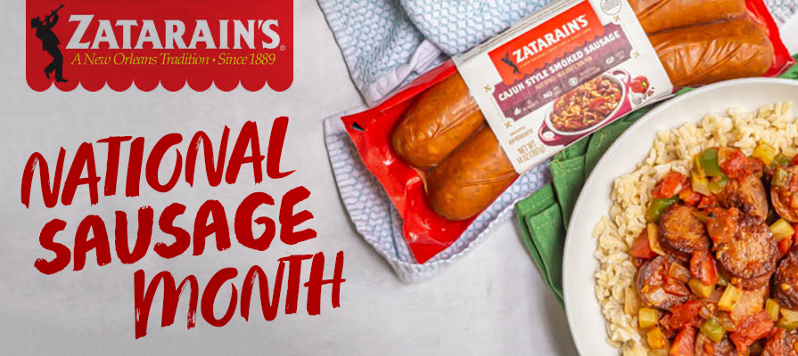 Zatarain's Celebrates National Sausage Month
