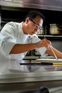 Chef Shun Li, Pastry Chef at New Orleans' Windsor Court Hotel (Photo Source: The Grill Room)