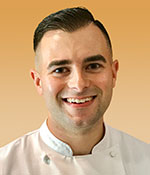 Clayton Burrows, Research & Development Chef, Blount Fine Foods