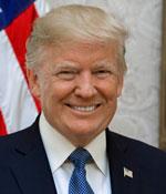 Donald Trump, President, United States of America
