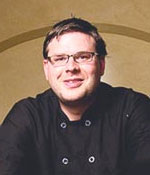 Graham Zanow, Executive Chef, Campbells (Photo Credit: Napa Valley Register)