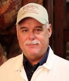 Sam Edwards III, Cure Master, Edwards Virginia Smokehouse