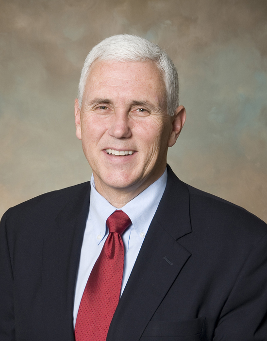 Mike Pence, Governor, Indiana