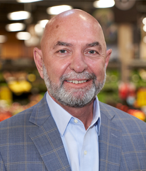 Joe Grieshaber, Retiring Senior Vice President and Chief Merchant Officer, Kroger