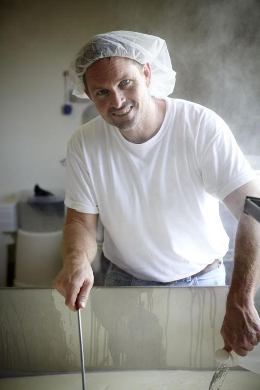 Liam Callahan, Proprietor & Cheesemaker, Bellwether (Photo Credit: Cheese Trail)