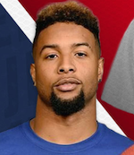 Odell Beckham Jr., Pro Football Player, New York Giants