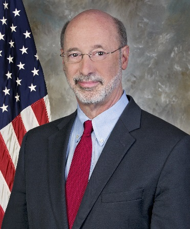 Tom Wolf, Governor, Pennsylvania