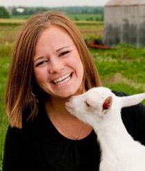 Katie Fuhrmann, Head Cheesemaker, LaClare Family Creamery