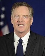 Robert Lighthizer, Trade Representative, United States of America