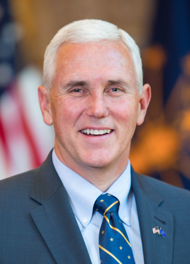 Governor Mike Pence, Indiana
