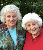 Ann (left) and Paula (right), Co-Founders, Rose Sisters Chips