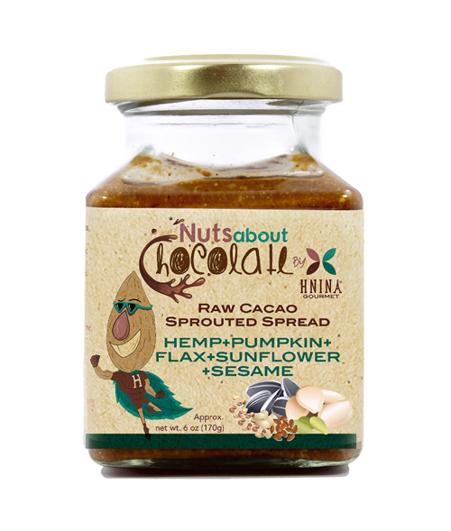 HNINA GOURMET Sprouted Seed Spread